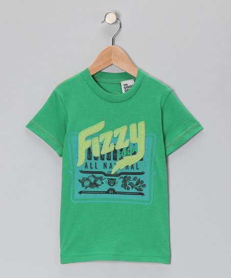 Green 'Fizzy' Soda Tee - Toddler & Boys