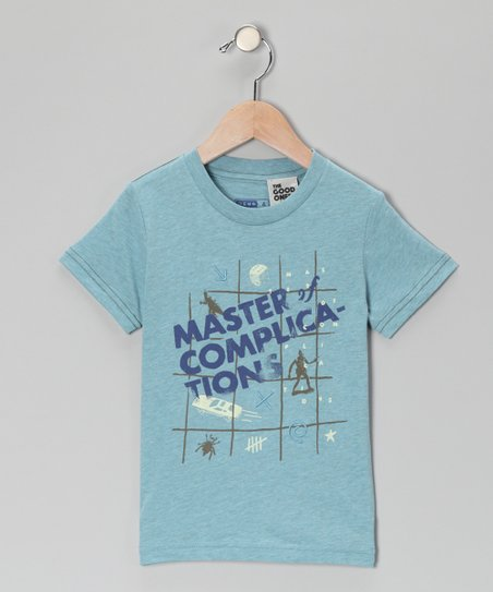 Blue 'Master of Complications' Tee - Toddler & Boys