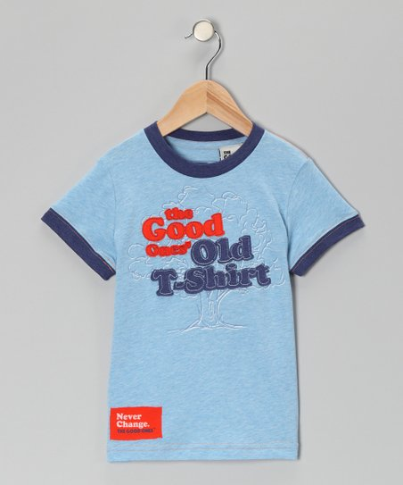 Blue 'The Good Old T-Shirt' Tee - Toddler & Boys