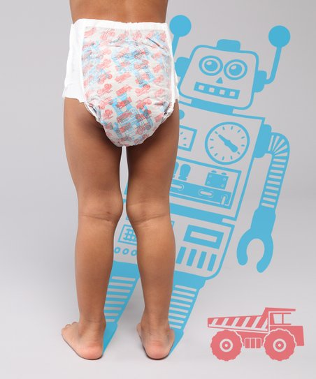 Robots Premium Nontoxic Disposable Training Pants Pack