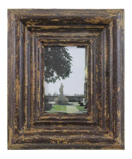 Large Patina Square Dobson Frame