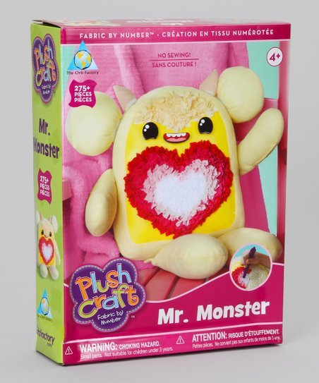 Mr. Monster PlushCraft Kit