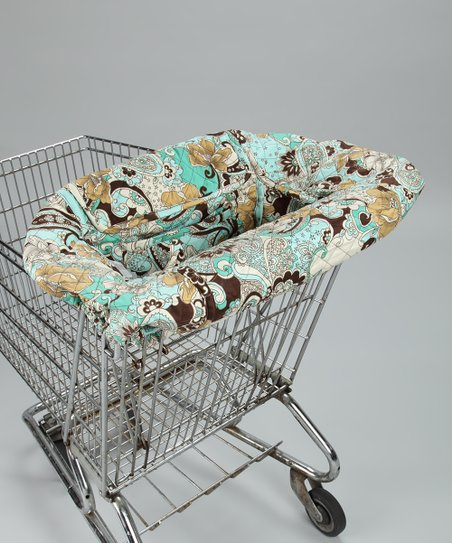 Boho Chic Shopping Cart Cover