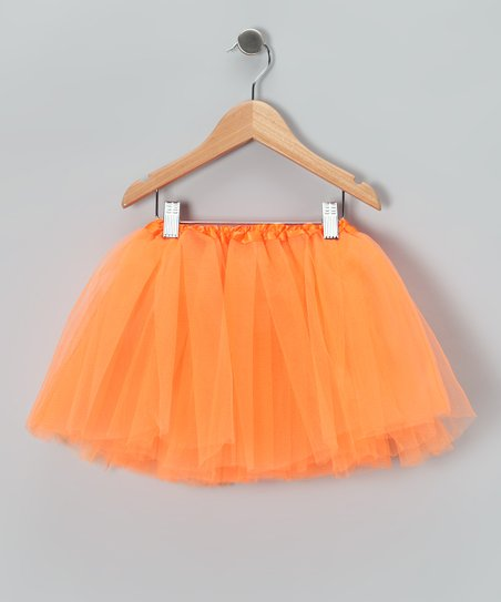 Orange Tutu - Toddler & Girls