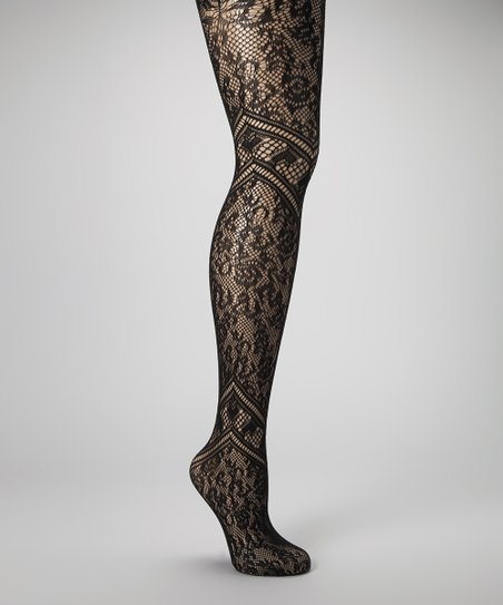 Black Hearts Fishnet Tights