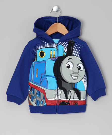 Blue Thomas Zip-Up Hoodie - Toddler