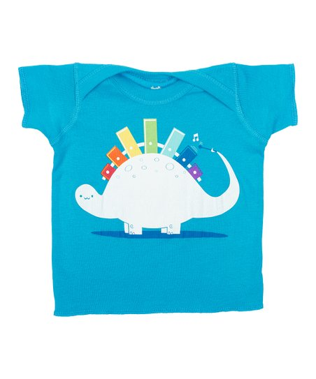 Teal Xylorsaurus Tee - Infant