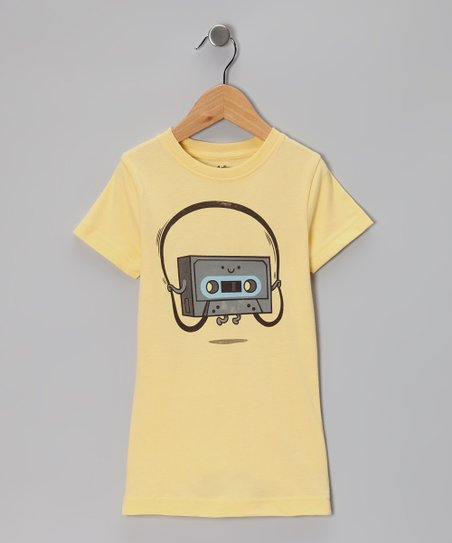 Sun Jumping Tape Tee - Girls