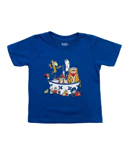 Royal Blue Sugar High Tee - Toddler &amp; Kids