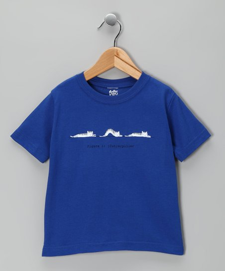 Royal Blue '(Cat)erpillar' Tee - Toddler & Kids