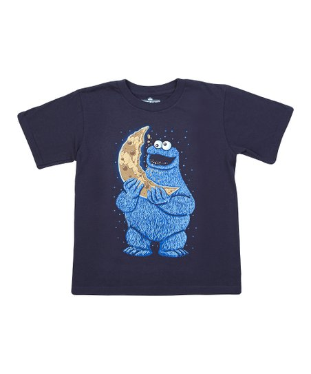 Navy Cookie Moon Tee - Boys