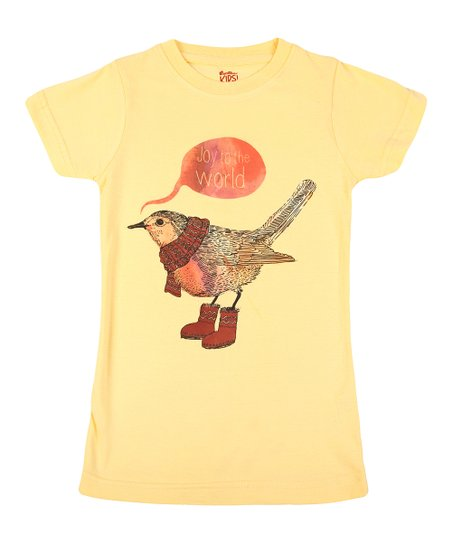 Sun 'Joy to the World' Tee - Girls