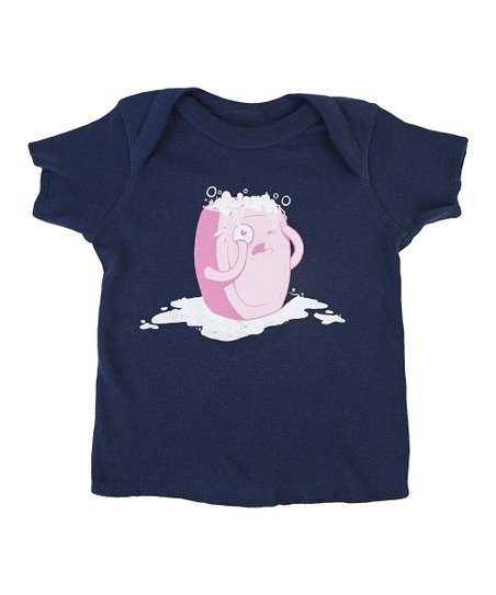 Navy Bubble Trouble Tee - Infant