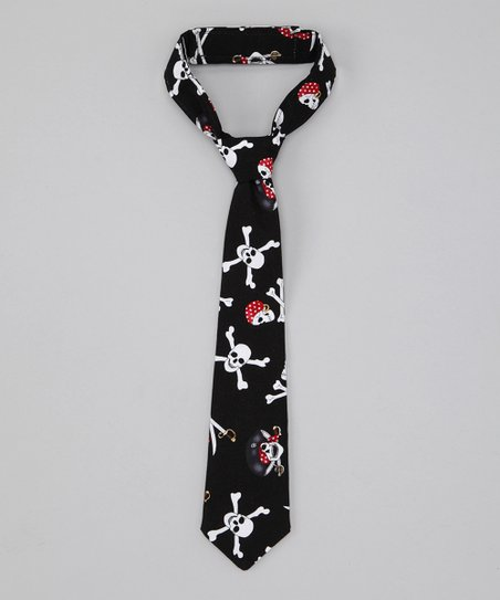 Black Pirate Tie