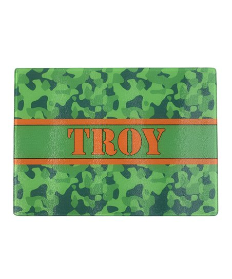 Camo Personalized Cutting Board