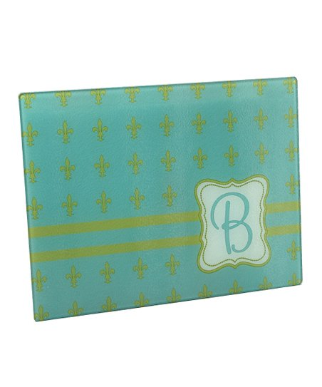 Fleur-de-Lis Initial Cutting Board