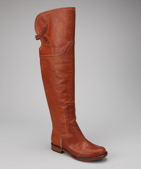 Tan Lucille Knee-High Boot