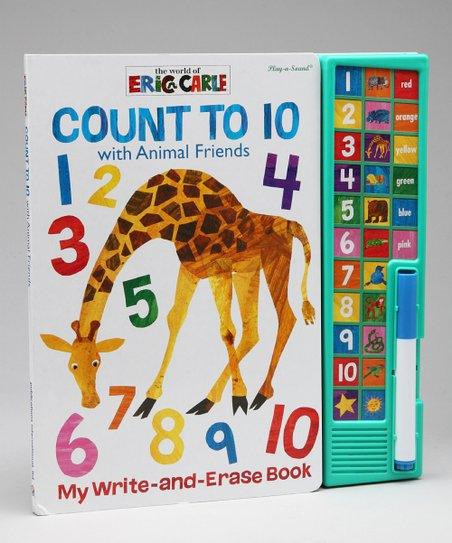 Eric Carle Count to Ten Write & Erase Board Book