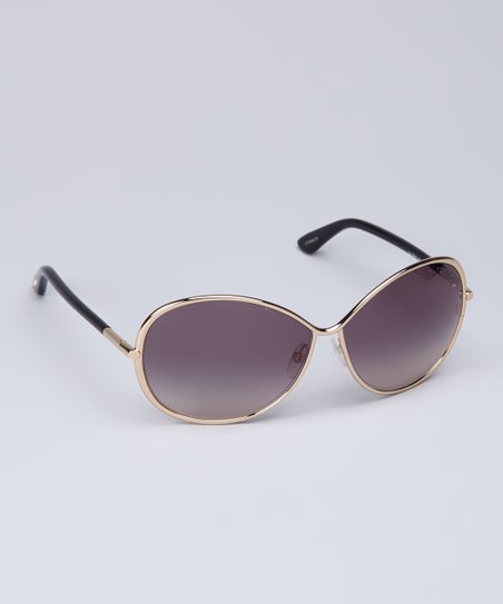 Gold & Black Sunglasses