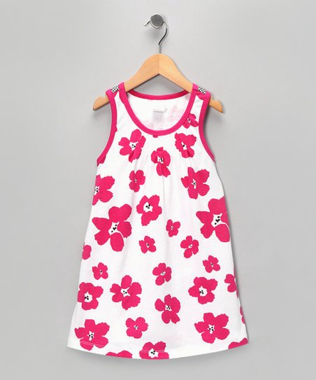 Pink Poppy Dress - Toddler & Girls