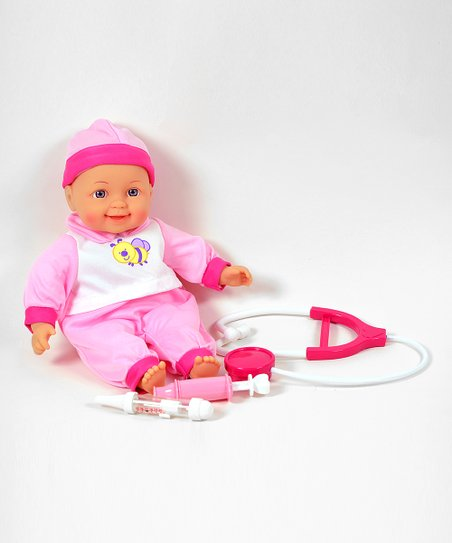 Talking Baby Doll Doctor Set