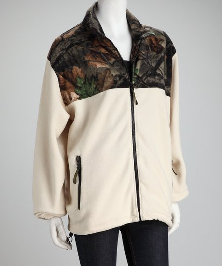 Birch Camo Fleece Jacket - Women