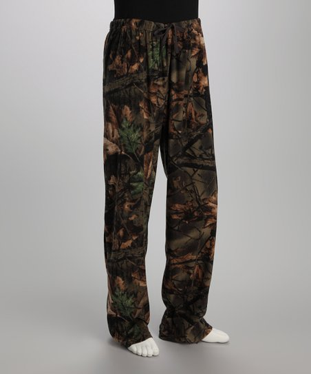 Highland Timber Camo Fleece Lounge Pants - Men