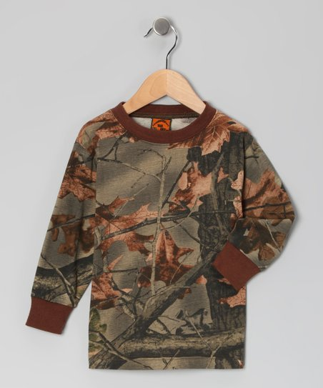 Green Camouflage Tee - Infant, Toddler & Kids