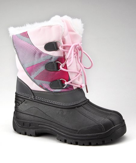 Light Pink & Pink Boot