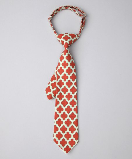 Terra Cotta Lattice Tie