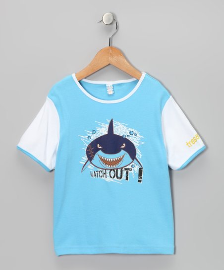 Blue Shark Tee - Toddler & Boys