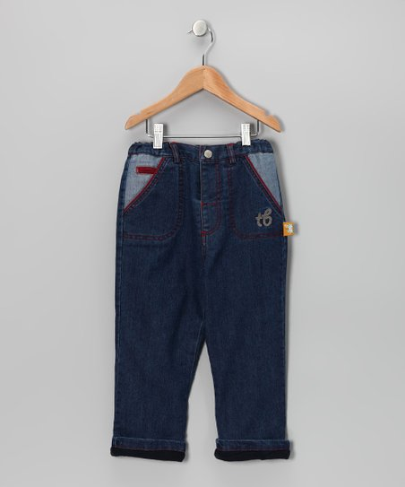 Classic Wash Fleece-Lined Jeans - Toddler & Boys