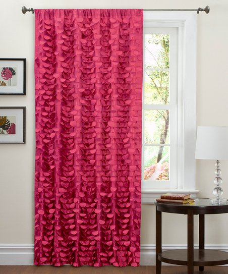 Pink Lillian Curtain Panel
