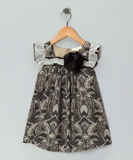 Black & White Swing Dress - Infant & Toddler