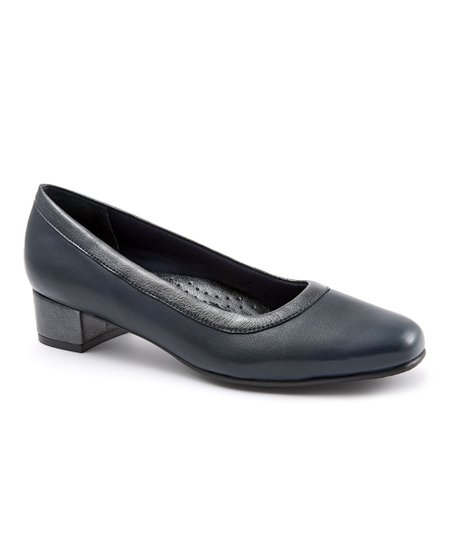 Trotters Navy & Pewter Dora Pump