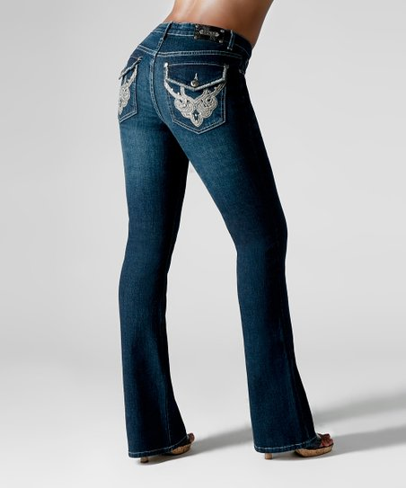 Dark Blue Tokyo Bootcut Jeans