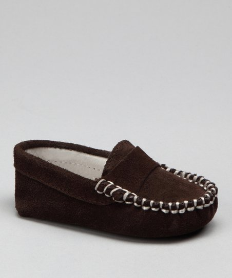 Brown Suede Moccasin