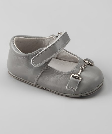 Light Gray Buckle Mary Jane