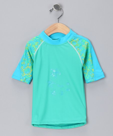 Green Offshore Rashguard - Infant, Toddler & Girls