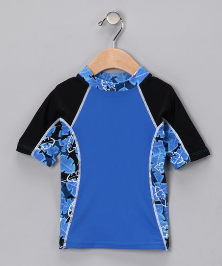 Blue Onshore Rashguard - Infant, Toddler & Boys