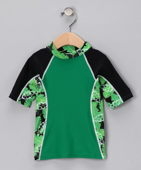 Green Onshore Rashguard - Infant, Toddler & Boys