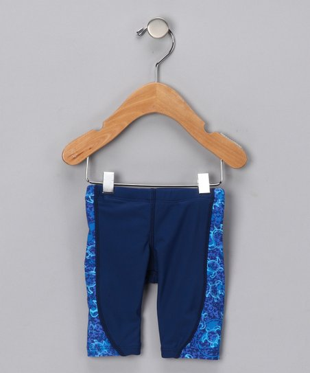 Blue Jammer Shorts - Infant, Toddler & Boys