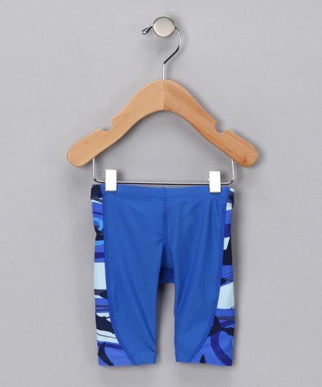 Blue Shark Jammer Shorts - Infant, Toddler & Boys