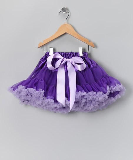 Purple Pettiskirt - Infant, Toddler & Girls