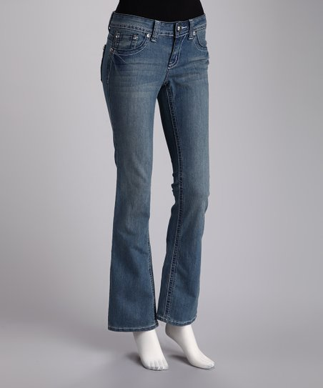 Twelve R Light Blue Straight-Leg Jeans
