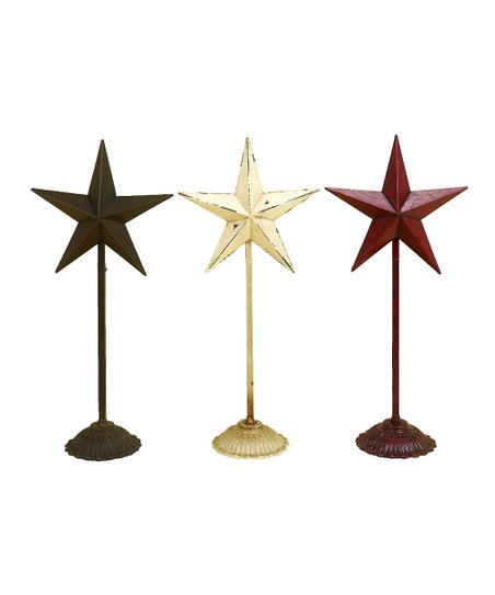 Star Sculpture Set