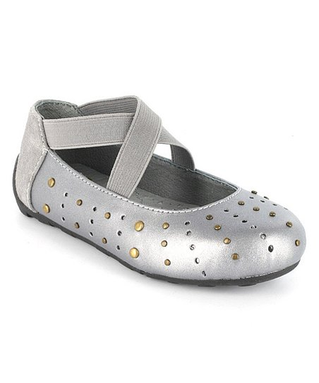 Pewter Addie Ballet Flat
