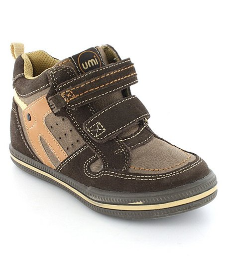 Chocolate Torrance Hi-Top Sneaker