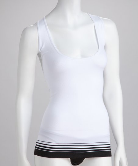 White Seamless Shaper Camisole