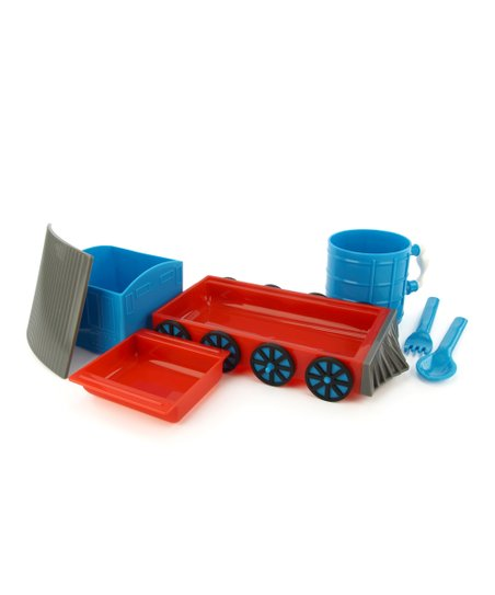Blue Chew Chew Train Place Setting